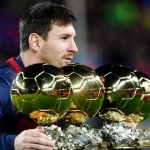 Lionel Messi - 4 times gold!